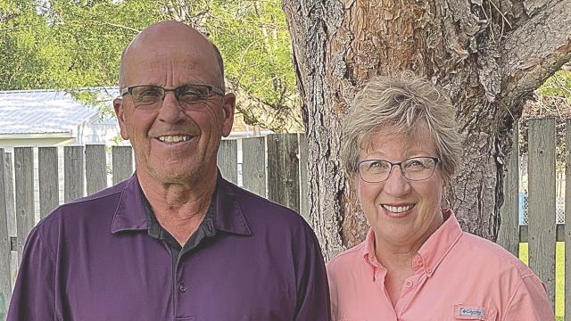 Bruce and Linda Morrison
